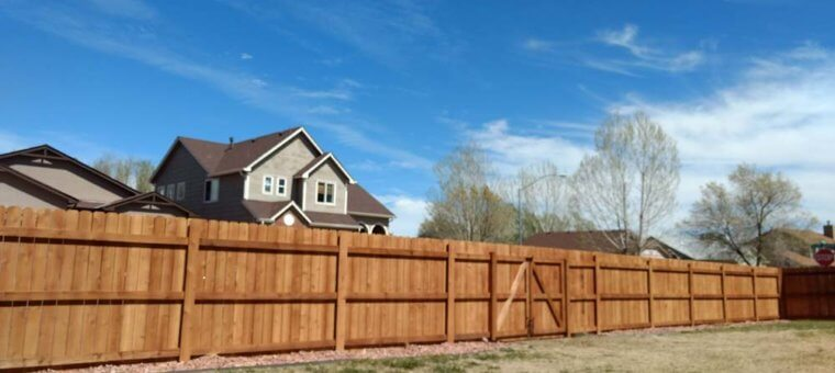 colorado springs fence replacement
